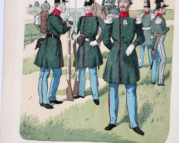 Niederlande 1841-1846 - Uniformenkunde - Richard Knötel - V - Planche 22