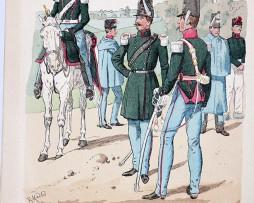 Niederlande 1843-1855 - Uniformenkunde - Richard Knötel - V - Planche 23