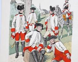 Oesterreich-Ungarn 1762 - Uniformenkunde - Richard Knötel - V - Planche 30