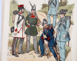 Ungarn 1848/49 - Uniformenkunde - Richard Knötel - IX - Planche 34