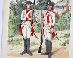 Oesterreich-Ungarn 1761 - Uniformenkunde - Richard Knötel - XII - Planche 4