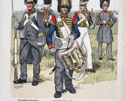 Niederlande 1830 - Uniformenkunde - Richard Knötel - XV - Planche 59