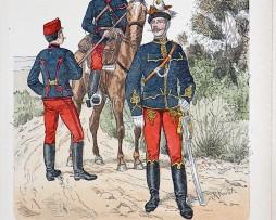 Oesterreich-Ungarn 1868/1878 - Uniformenkunde - Richard Knötel - XIV - Planche 57