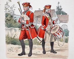 Oesterreich-Ungarn 1762 - Uniformenkunde - Richard Knötel - XIV - Planche 59
