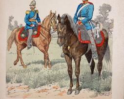 Mecklenburg-Schwerin 1847 - Uniformenkunde - Richard Knötel - X - Planche 33