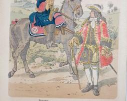 Oesterreich-Ungarn 1682/1690 - Uniformenkunde - Richard Knötel - X - Planche 26
