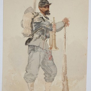 Chasseur a pied 1870