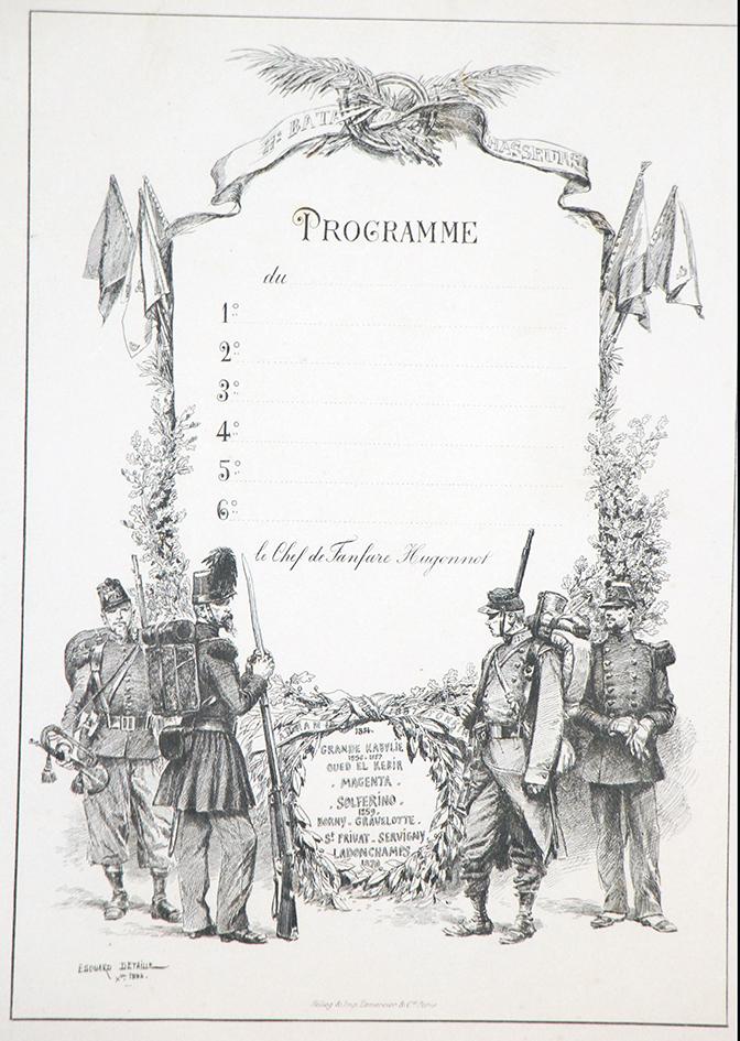 Programme musical Edouard Detaille