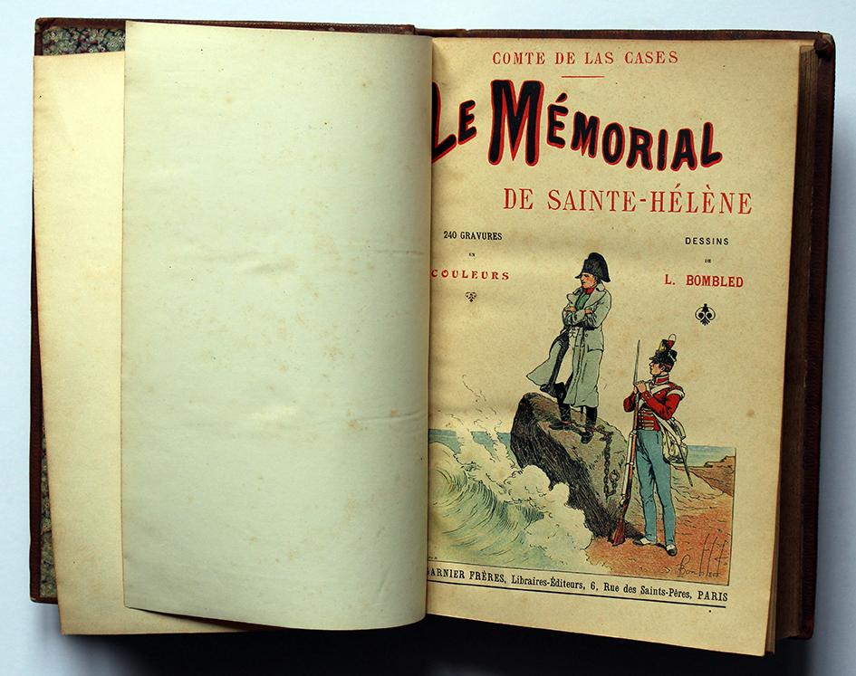 Le mémorial de Sainte Helene