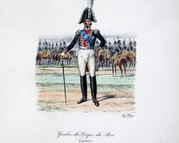 Gardes du Corps du Roi - Capitaine - Histoire de la Maison Militaires du Roi 1814/1830 - Eugène Titeux