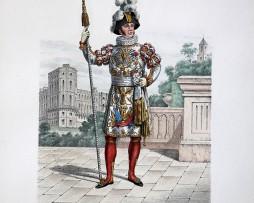 Gardes du Corps du Roi - Garde de la Manche 1814/1830 - Histoire de la Maison Militaires du Roi 1814/1830 - Eugène Titeux