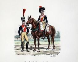 Gardes du Corps du Roi - Train d'Artillerie 1814/1815- Histoire de la Maison Militaires du Roi 1814/1830 - Eugène Titeux