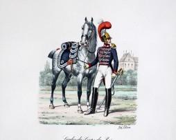 Gardes du Corps du Roi - Trompette 1820/1830 - Histoire de la Maison Militaires du Roi 1814/1830 - Eugène Titeux