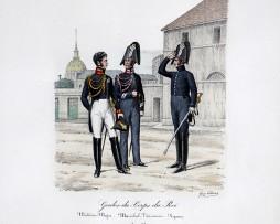 Gardes du Corps du Roi - Médecin/Véterinaire/Piqueur - Histoire de la Maison Militaires du Roi 1814/1830 - Eugène Titeux