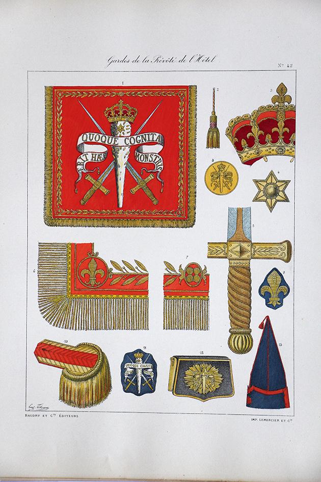 Gardes de la Prévoté de l'Hotel - Histoire de la Maison Militaires du Roi 1814/1830 - Eugène Titeux
