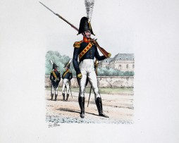Gardes de la Prévoté de l'Hotel -1814/1816 - Histoire de la Maison Militaires du Roi 1814/1830 - Eugène Titeux