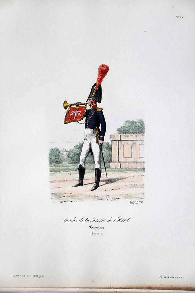 Gardes de la Prévoté de l'Hotel -Trompette 1814/1816 - Histoire de la Maison Militaires du Roi 1814/1830 - Eugène Titeux