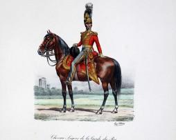 Chevau-légers de la Garde du Roi - Maréchal des Logis de 1er Classe 1814/1815 - Histoire de la Maison Militaires du Roi 1814/1830 - Eugène Titeux