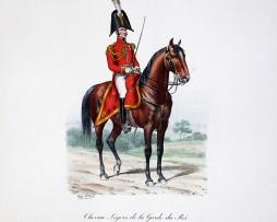 Chevau-légers de la Garde du Roi - Petite tenue 1814/1815 - Histoire de la Maison Militaires du Roi 1814/1830 - Eugène Titeux