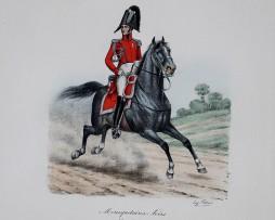 Mousquetaires Noirs - Petit Tenue 1814/1815 - Histoire de la Maison Militaires du Roi 1814/1830 - Eugène Titeux