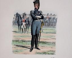 Grenadiers a Cheval du Roi - Capitaine Lieutenant 1814/1815 - Histoire de la Maison Militaires du Roi 1814/1830 - Eugène Titeux