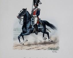 Grenadiers a Cheval du Roi - Grande tenue 1814/1815 - Histoire de la Maison Militaires du Roi 1814/1830 - Eugène Titeux