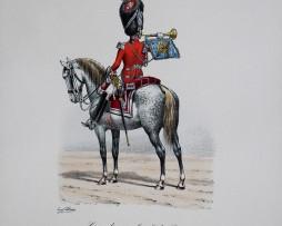 Grenadiers a Cheval du Roi - Trompette 1814/1815 - Histoire de la Maison Militaires du Roi 1814/1830 - Eugène Titeux