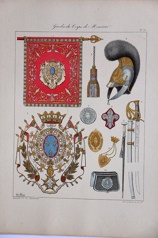 Garde du Corps de Monsieur - 1814/1815 - Histoire de la Maison Militaires du Roi 1814/1830 - Eugène Titeux