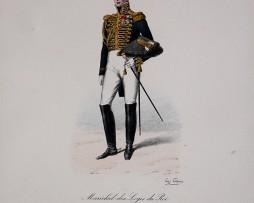 Garde du Corps de Monsieur - Maréchal des Logis du Roi 1814/1830 - Histoire de la Maison Militaires du Roi 1814/1830 - Eugène Titeux