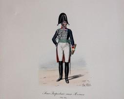 Garde du Corps de Monsieur - Sous inspecteur aux Revues 1814/1817 - Histoire de la Maison Militaires du Roi 1814/1830 - Eugène Titeux