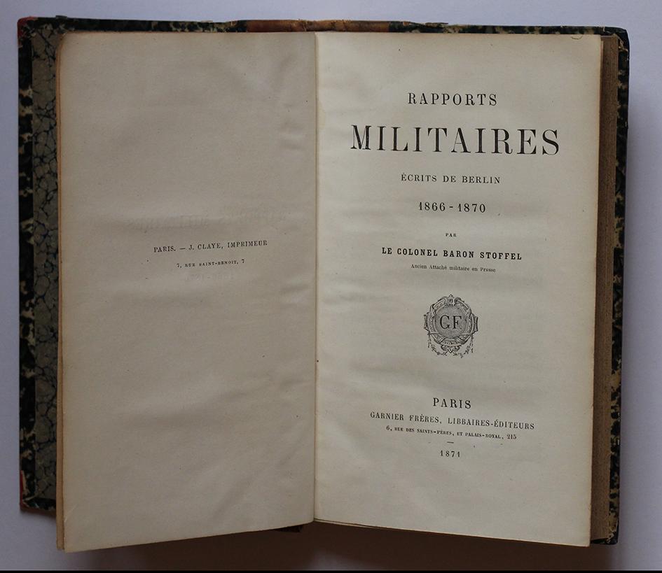 Livre sur armée prussienne