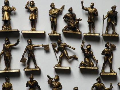 Les Figurines Café Martin – Les Scouts et les Sports – 1958