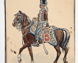 Officiers du 2e Hussards - 1805 - Pierre Albert Leroux