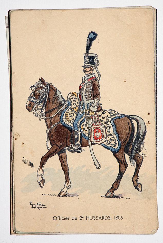 Officiers du 2e Hussards - 1805 - Pierre Albert Leroux
