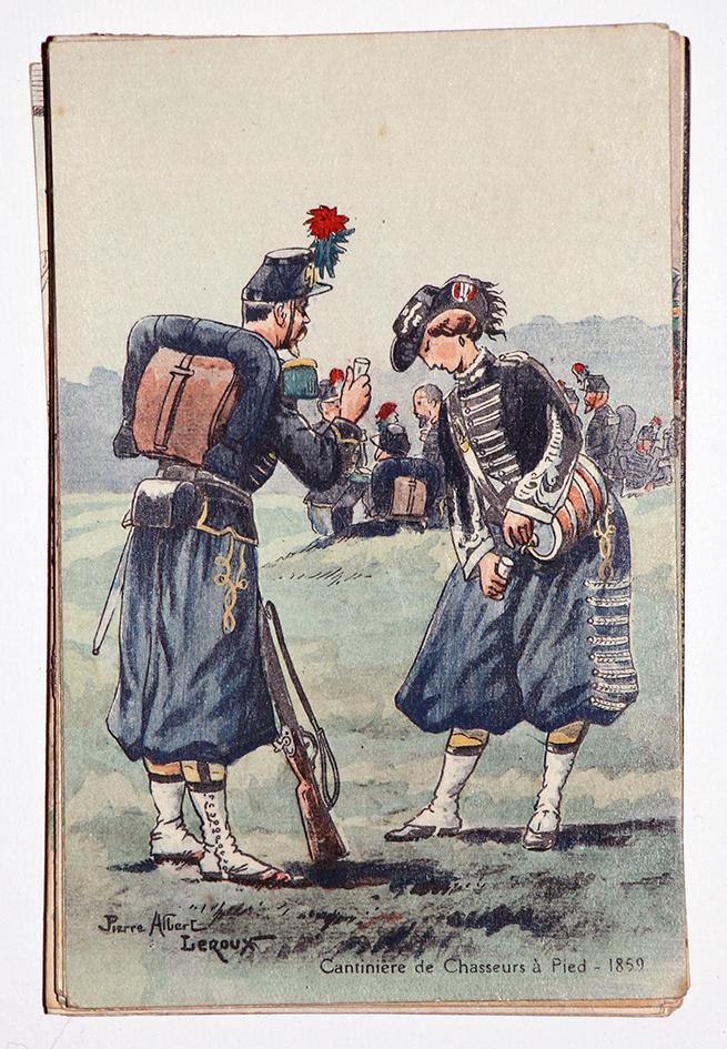 Cantinière de Chasseur à Pied - 1859 - Pierre Albert Leroux