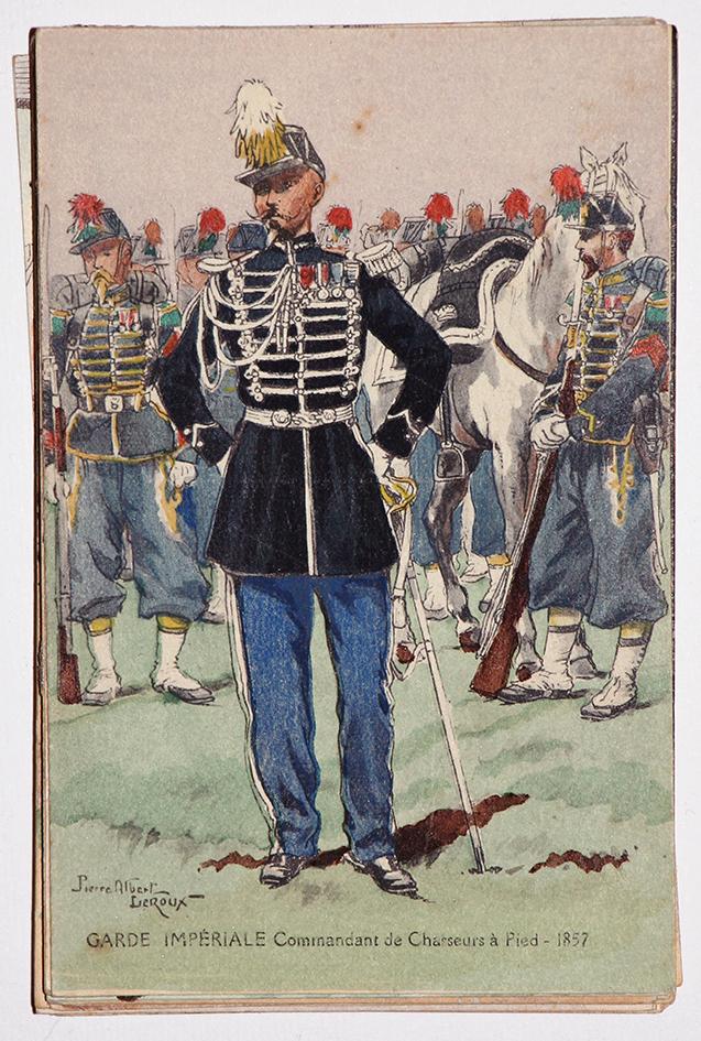 Commandant Chasseur à Pied - 1857 - Pierre Albert Leroux