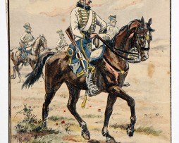 Hussards- 1800 - Pierre Albert Leroux