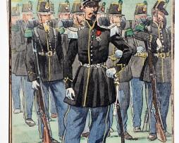 Chasseur à Pied- 1843 - Pierre Albert Leroux