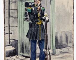 Chasseur d'Orleans 1840 - Pierre Albert Leroux