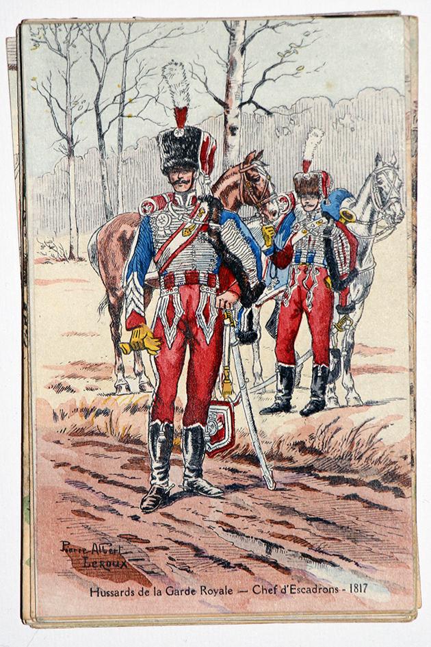 Hussards de la Garde Royale - 1817 - Pierre Albert Leroux