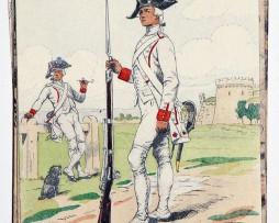 Régiment du Beaujolais - 1779 - Pierre Albert Leroux
