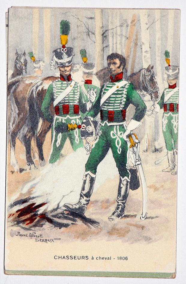 Chasseurs à Cheval - 1806 - Pierre Albert Leroux