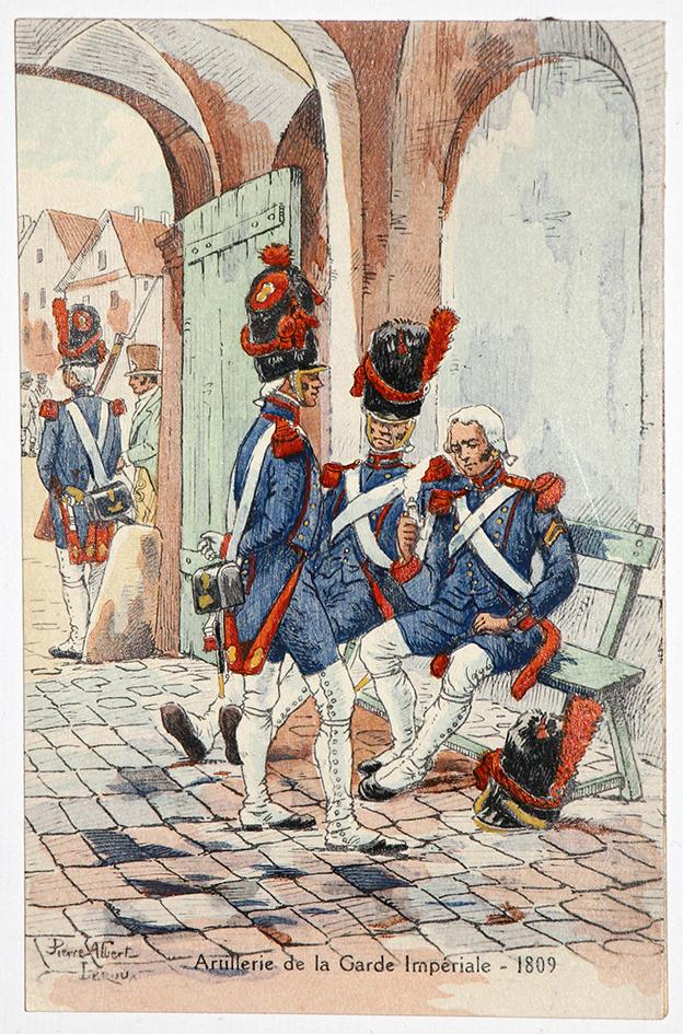 Artillerie de la Garde Impériale - 1809 - Pierre Albert Leroux