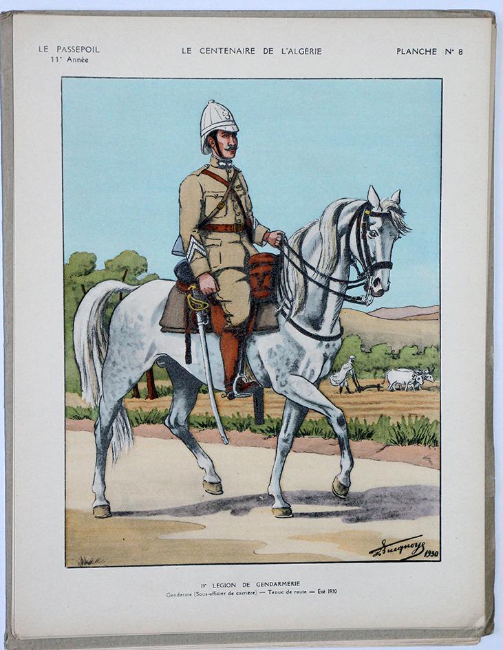 Le passepoil année 1931/1/2 - Bucquoy - Uniformes Armée Française