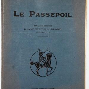 Le passpoil 1921 Bucquoy Revue Uniforme