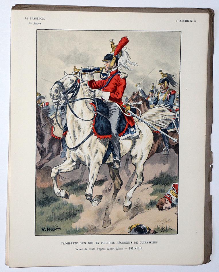 Pierre Benigni Lancier de la Garde 1er Empire