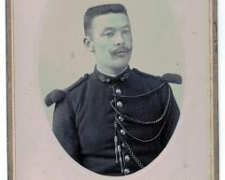 CDV Soldat Français Uniforme Gendarmerie XX siècle photographie