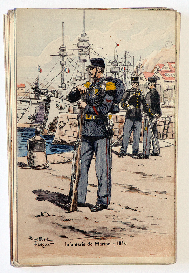 Infanterie de marine 1886