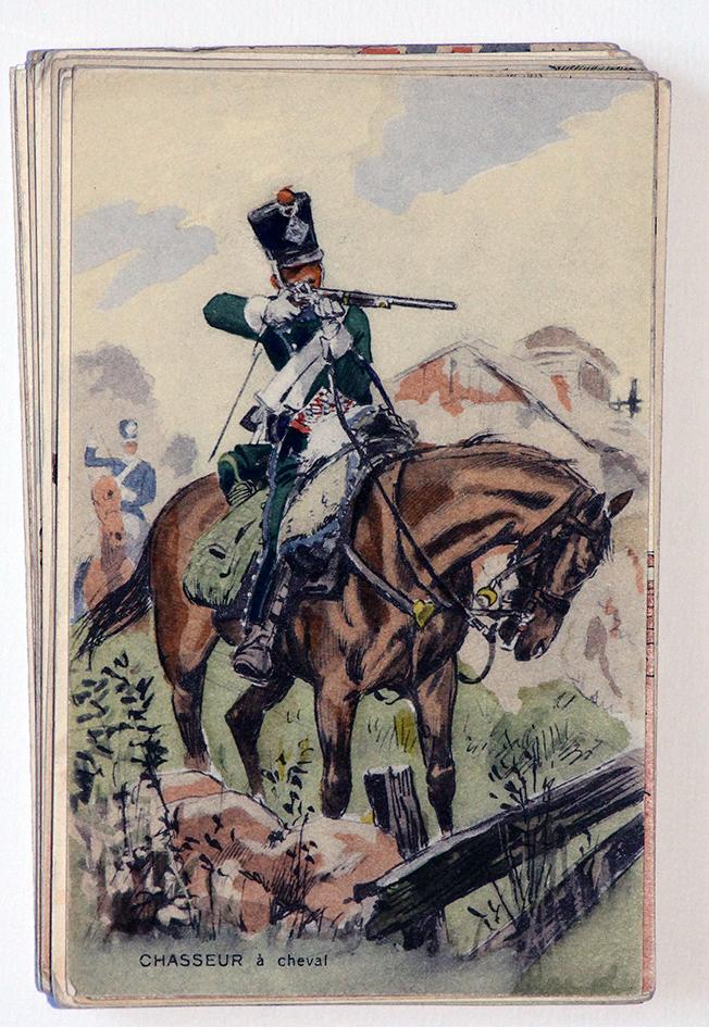 Chasseur à Cheval - 1er Empire - Maurice Toussaint