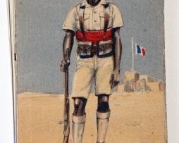 Armée Française de la libération Tirailleur Sénégalais 1945 - Edmond Lajoux